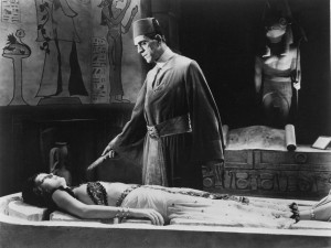 Long before Boris Karloff appeared in The Mummy, Sir. Arthur Conan Doyle wrote of a tragic, immortal Egyptian obsessed with an ancient love