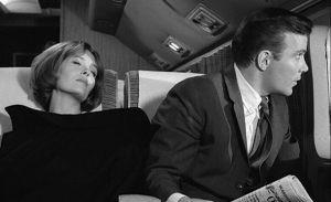 "William Shatner discovers planes can be more dangerous than spaceships in the classic Twilight Zone episode ""Terror at 20,000 Feet."""