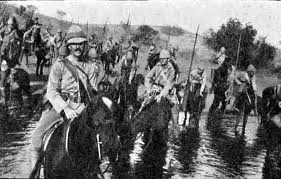 England's 5th Lancers at the Battle of Elandslaagte.